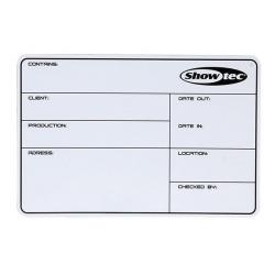 Flightcase Label