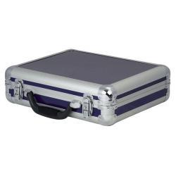 Flightcase for 7 Microphones Blauw