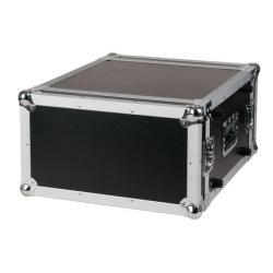 Flightcase 19 inch rack 6 HE DoubleDoor Case