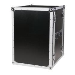 DAP-Audio Flightcase 19 inch rack 16 HE DoubleDoor Case