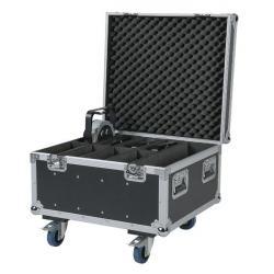 Flightcase for 8 x Compact Par