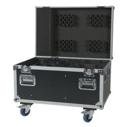 Flightcase voor 4x Expression 5000 of 4x Tracker Q4