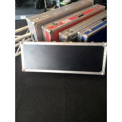 Flightcase Keyboard Zwart