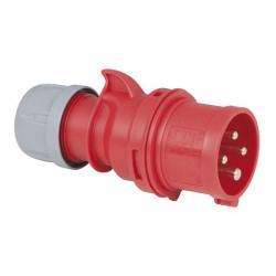 CEE 16A 400V 4p Plug Male