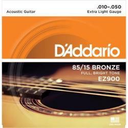 D'Addario EZ900 American Bronze 85/15 Extra Light 10-50