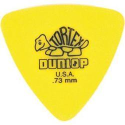 Dunlop Plectrum Tortex Triangle Yellow 73mm