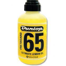 Dunlop 6554 Fretboard 65 Lemon Oil voor gitaar-toets