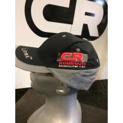 Rombouts Cap, kleur zwart grijs