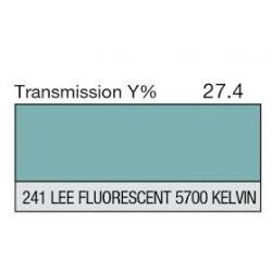 LEE filter vel nr 241 fluorescent 5700 kelvin