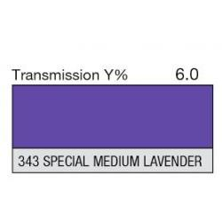 LEE filter vel nr 343 special medium lavender