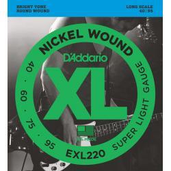 D'Addario EXL-220 Bassnaren 040-060-075-095
