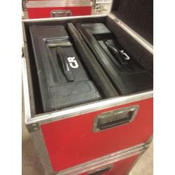 Flightcase t.b.v. 2 x Electro Voice S-200 speakerkast