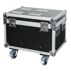 Flightcase voor 4 pcs Shark Spot / Wash / Zoom / Combi