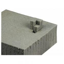 Universal Foam, plaat: 1,2m x 0,6m, 10cm, plukschuim