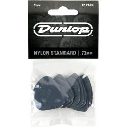 Dunlop plectrum nylon standaard .73mm 12pack