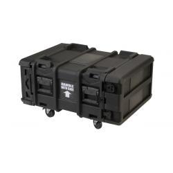 SKB 24 inch diep 4U Roto Shock rack
