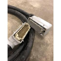 Multikabel 36 ch. 108p. multiconnector male-female 5 mtr.