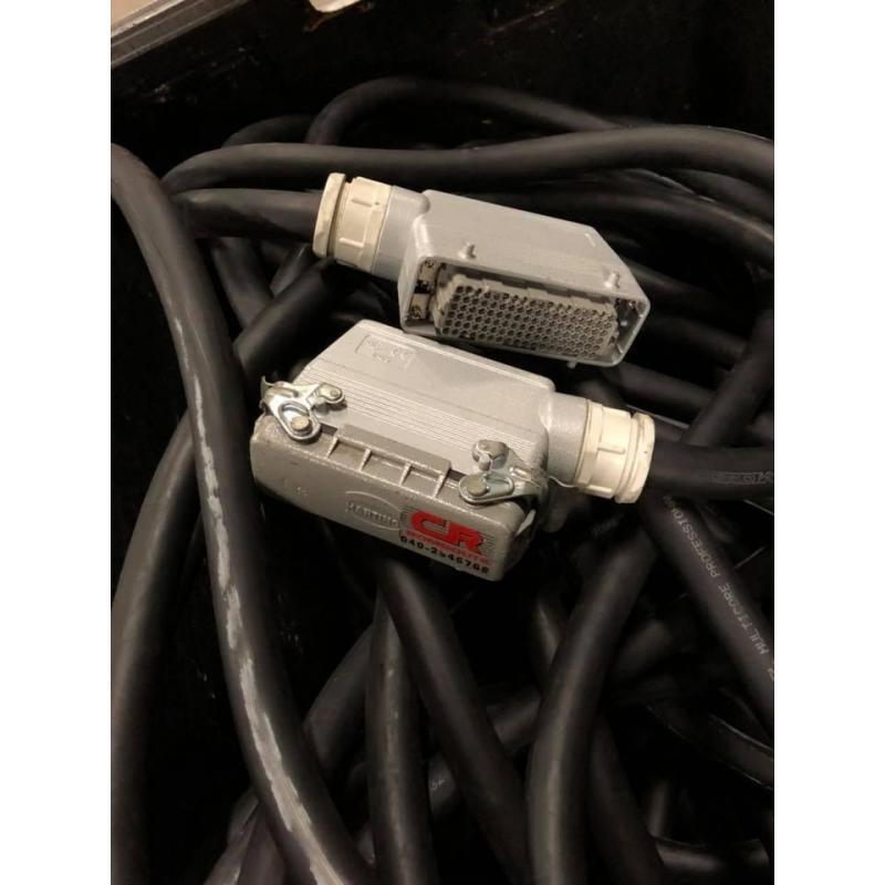 Zeck Multikabel 26/6 108p multiconnector 30 mtr. in flightcase