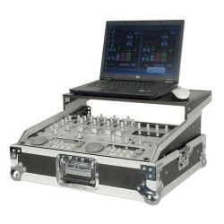 "19"" Mixer case 9U with shelf"