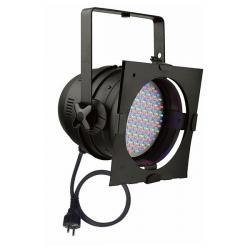 Par 64 Short, RGB LED zwart