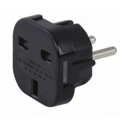 UK to Schuko Plug adapter