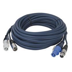 Powercon/XLR M - Powercon/XLR F