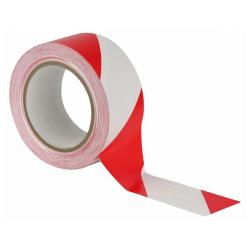 Floor-Marking tape rood/wit...